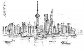 城市小品之上海陆家嘴图片